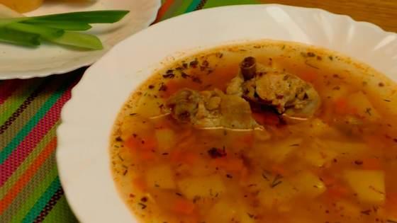 Суп харчо в домашних условиях: рецепт приготовления из курицы