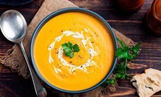 Тыквенный крем суп рецепт со сливками