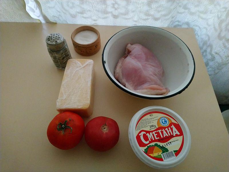 Ингредиенты для курицы в духовке