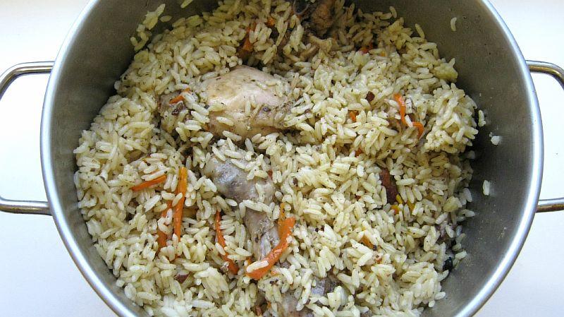 Рис с курицей: рецепт с фото пошагово