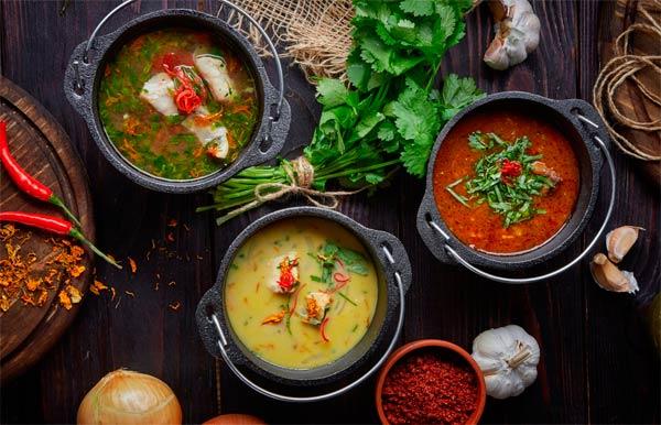 Рецепты первых блюд
