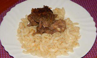 Тушеные свиные ребра рецепт с фото пошагово