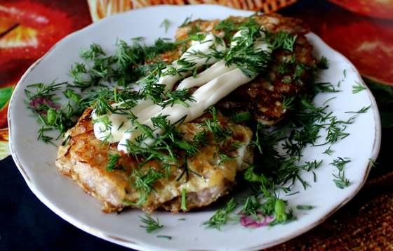 вафли с мясом закуска