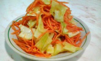 Салат из овощей по-корейски