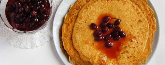Рецепт блинов из тыквы