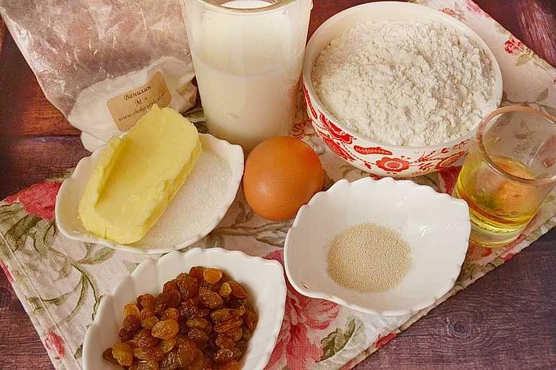 Рецепт пасхального кулича: ингредиенты