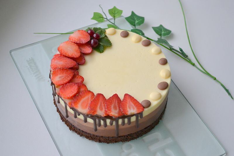 Рецепт торта три шоколада