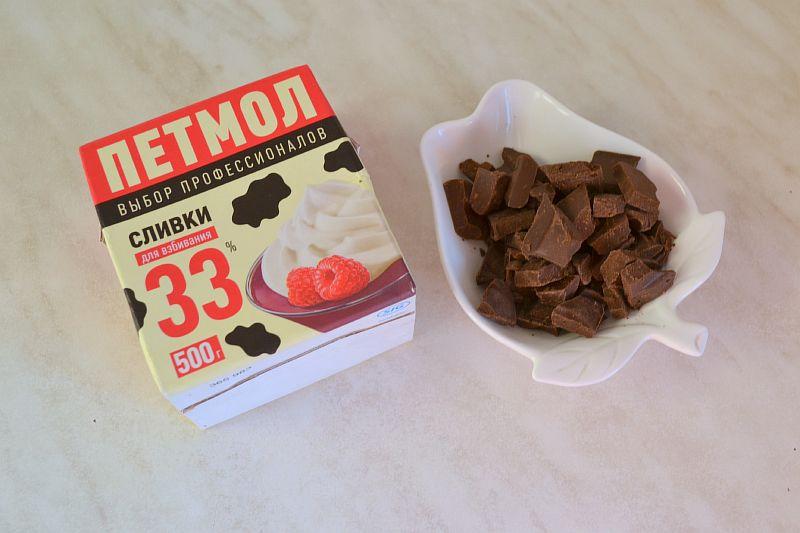 Готовим шоколадный ганаш