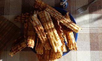 Вафли в вафельнице рецепт