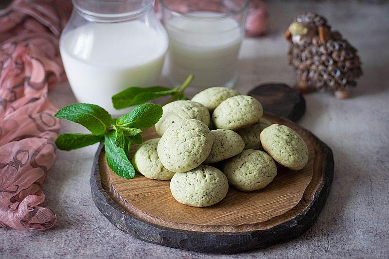 Домашнее мятное печенье, рецепты с фото