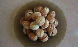 Рецепт орешков со сгущенкой в домашних условиях