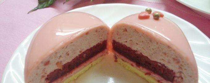 Муссовые пирожные рецепт с зеркальной глазурью