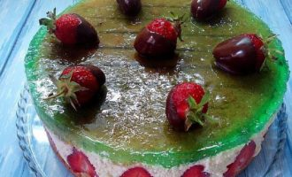 Торт фрезье рецепт с фото пошагово с клубникой