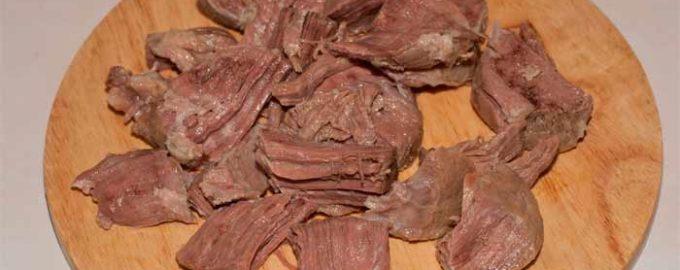Говядина отварная калорийность на 100 грамм