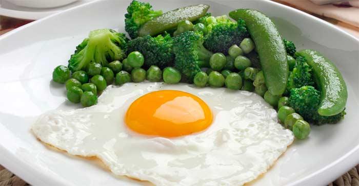 яйцо жареное калорийность на 100 грамм