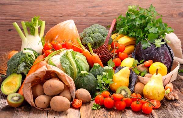 Овощи калорийность на 100 грамм