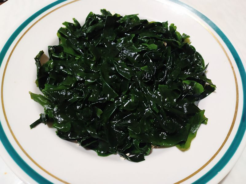 Замачиваем водоросли